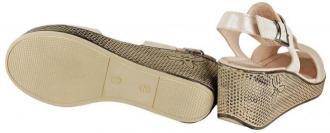 LANQIER 44C2937 pudra florya, sandały damskie