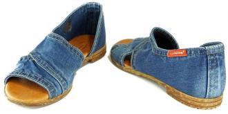 LANQIER 44C0257 jeans, sandały damskie