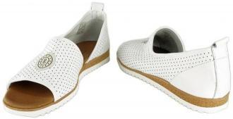 LANQIER 44C0690 biały, sandały damskie