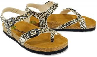 DR. BRINKMANN 510336-2 leo, sandały, japonki profilaktyczne damskie