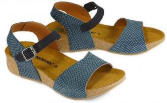 DR. BRINKMANN 711012-5 marine, sandały damskie