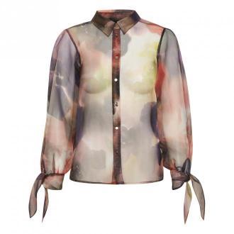 Karen by Simonsen koszulka z powrotem Bluzki i koszule Beżowy Dorośli