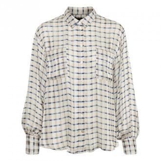 Karen by Simonsen Crawley Koszula Bluzki i koszule Beżowy Dorośli