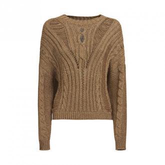 Guess Pull Swetry i bluzy Brązowy Dorośli Kobiety Rozmiar: M