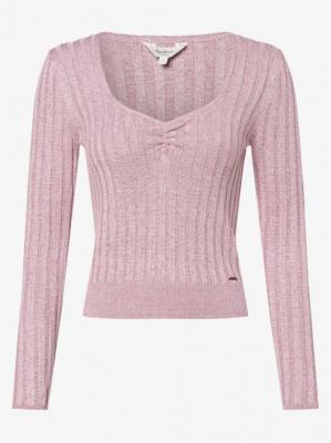 Pepe Jeans - Sweter damski – Amanda, różowy