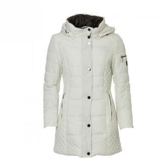 Danwear Danwear Jacket 8200-102 * White Płaszcze Biały Dorośli Kobiety