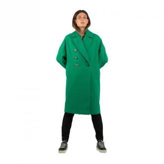 Pinko Płaszcz Płaszcze Zielony Dorośli Kobiety Rozmiar: 42 IT