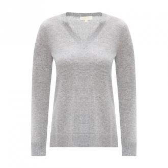 Michael Kors Kaszmirowy sweter Swetry i bluzy Szary Dorośli Kobiety