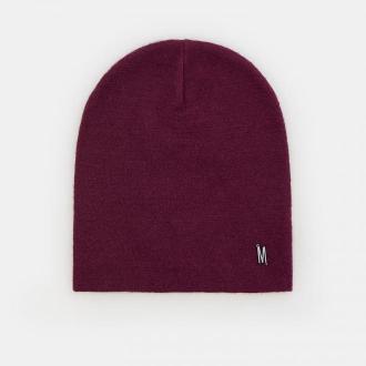 Mohito - Dzianinowa czapka z wiskozą - Bordowy