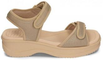 AZALEIA 320/321 beige W/sand, sandały damskie