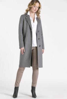 Klasyczny, wełniany płaszcz