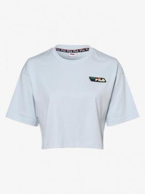 FILA - T-shirt damski – Olympe, niebieski