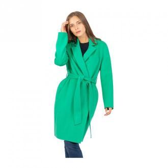 Patrizia Pepe Płaszcz Płaszcze Zielony Dorośli Kobiety Rozmiar: 42