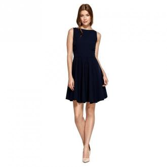 Colett Sukienka z rozkloszowanym dołem Sukienki Niebieski Dorośli
