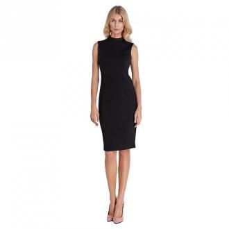Colett Dzianinowa sukienka Sukienki Czarny Dorośli Kobiety Rozmiar: L