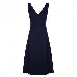 Colett Sukienka z dekoltem na plecach Sukienki Niebieski Dorośli