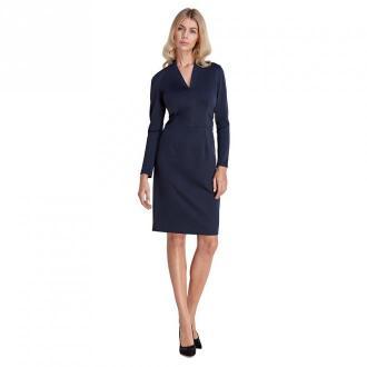 Colett Sukienka z subtelnym dekoltem Sukienki Niebieski Dorośli