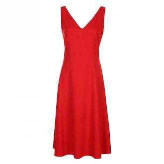Colett Sukienka z dekoltem na plecach Sukienki Czerwony Dorośli
