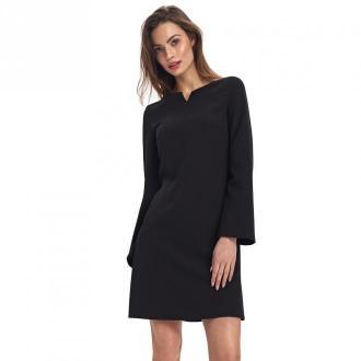 Colett Sukienka z szerokimi rękawami Sukienki Czarny Dorośli Kobiety