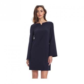 Colett Sukienka z szerokimi rękawami Sukienki Niebieski Dorośli