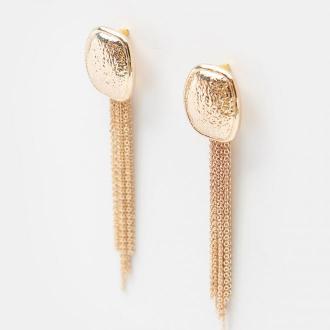 Mohito - Długie kolczyki z łańcuszkami - Złoty
