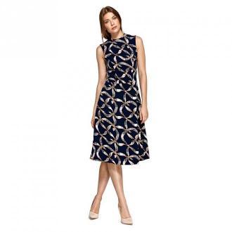 Colett Sukienka pod szyję Sukienki Niebieski Dorośli Kobiety Rozmiar: