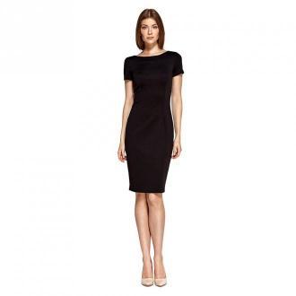 Colett Sukienka z krótkim rękawem Sukienki Czarny Dorośli Kobiety