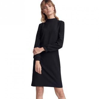 Colett Sukienka w literę A z półgolfem Sukienki Czarny Dorośli Kobiety