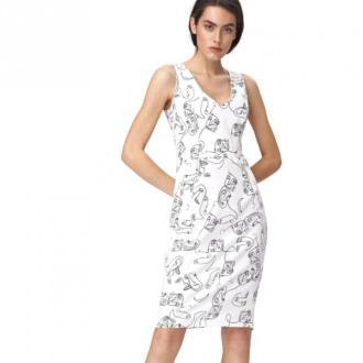 Nife Dress Sukienki Biały Dorośli Kobiety Rozmiar: XS - 34
