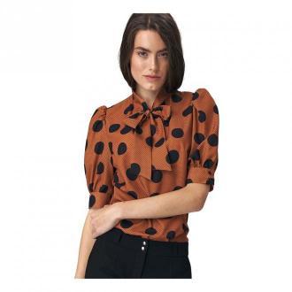 Nife Blouse Bluzki i koszule Brązowy Dorośli Kobiety Rozmiar: 38