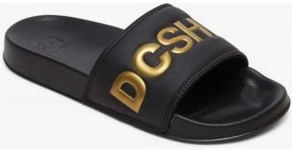 japonki DC - Dc Slide Se Black/Gold (BG3) rozmiar: 39