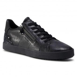 Sneakersy GEOX - D Blommie A D026HA-0PVEW C9999  Black