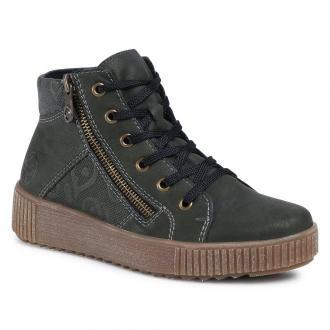 Sneakersy RIEKER - M6434-54 Grün