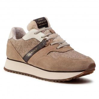 Sneakersy GANT - Bevinda 21533829 Mud Brown G467