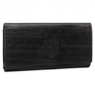 Duży Portfel Damski PUMA - Sf Ls Wallet F 053476 01 Puma Black