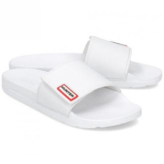 Hunter Original Adjustable Slide - Klapki Damskie - WFD4017EVA WHITE