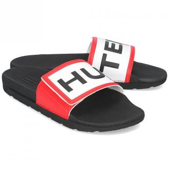 Hunter Original Adj Logo Slide - Klapki Damskie - WFD4018EVA BLACK