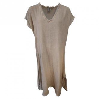 Stajl Dress 6913 Sukienki Beżowy Dorośli Kobiety Rozmiar: Onesize