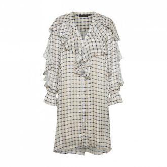 Karen by Simonsen Crawley Sukienka Sukienki Biały Dorośli Kobiety