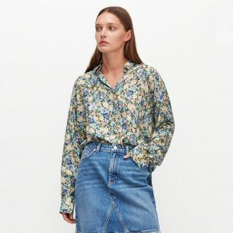 Reserved - Wiskozowa koszula w kwiaty - Wielobarwny