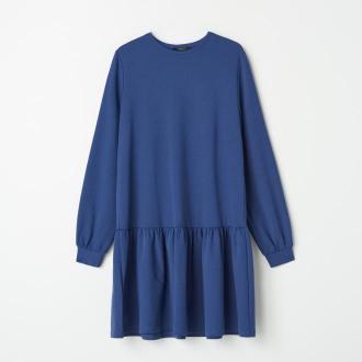 Mohito - Dresowa sukienka - Niebieski