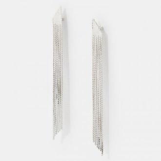 Mohito - Kaskadowe kolczyki - Srebrny
