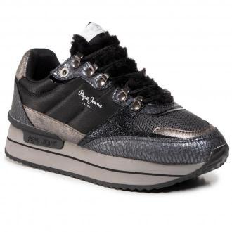Sneakersy PEPE JEANS - Rusper Anna PLS31066 Graphite 961