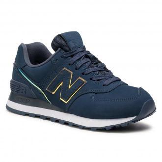 Sneakersy NEW BALANCE - WL574CLA Granatowy