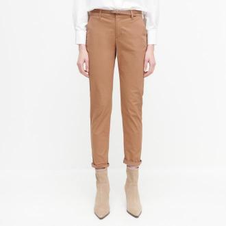Reserved - Spodnie chino z paskiem - Beżowy