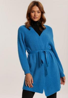 Niebieski Kardigan Thelira