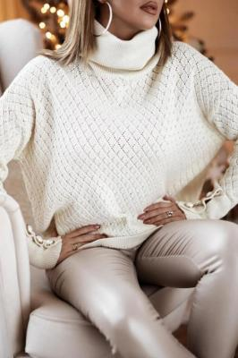 Sweter damski ZEFERA ECRU