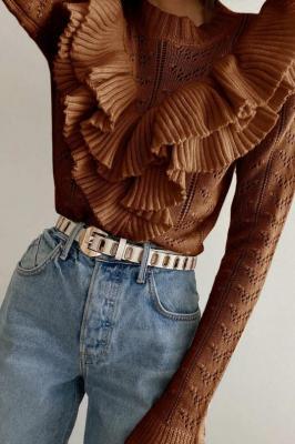 Sweter damski TALANA BROWN
