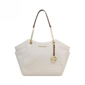 Large Chain Shoulder Tote