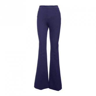 Alessandro Dell'Acqua Trousers Spodnie Niebieski Dorośli Kobiety